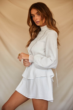 Load image into Gallery viewer, Evelyn Dress - White