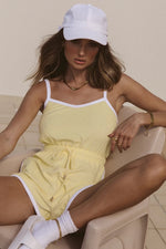 Load image into Gallery viewer, Lucie Playsuit - Lemon