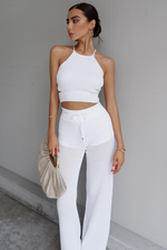 Load image into Gallery viewer, Jordina Knit Set - White