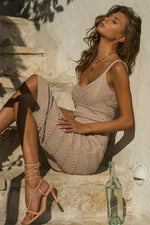 Load image into Gallery viewer, Dukes Midi Dress - Sand