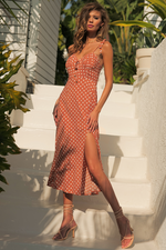 Load image into Gallery viewer, EM Joie Dress - Rust Spot