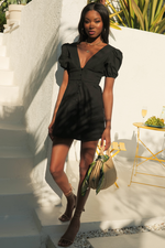 Load image into Gallery viewer, Ellicia Dress - Black