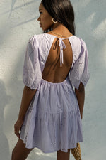 Load image into Gallery viewer, Knowles Babydoll Dress - Lilac