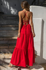 Load image into Gallery viewer, Remy Maxi Dress - Red