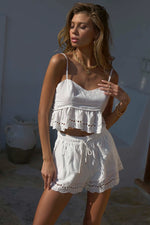 Load image into Gallery viewer, Ainsley Shorts - White