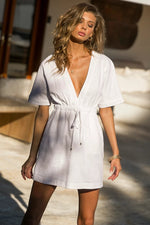 Load image into Gallery viewer, Aurelie Dress - White