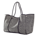 Load image into Gallery viewer, Marle Grey Neoprene Tote