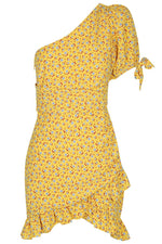 Load image into Gallery viewer, Swanson Mini Dress - Yellow