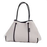 Load image into Gallery viewer, White Neoprene Tote