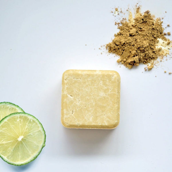 2 in 1 Dry + Curly- Shampoo Bar- Zero Waste Path