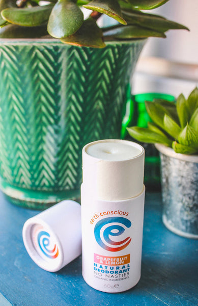 Earth Conscious Natural Deodorant Stick (Various Scents)