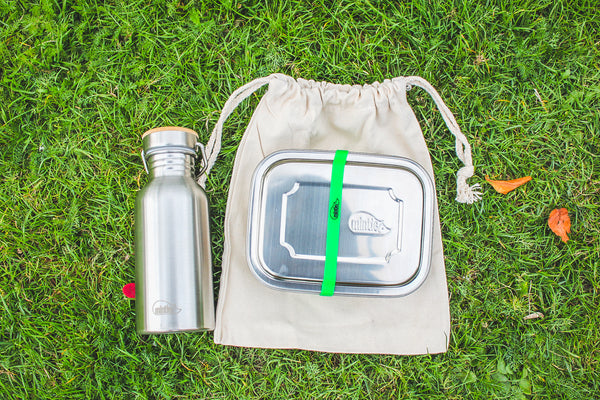 Mintie Duo Stainless Steel Lunchbox
