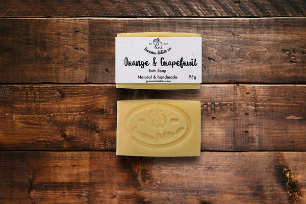 Orange & Grapefruit Soap Bar