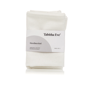 Tabitha Eve Organic Cotton Hankies 2 pack