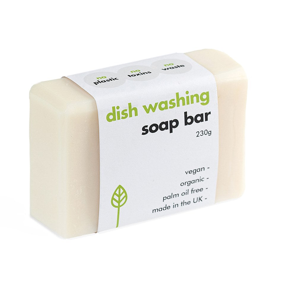 Washing-Up Dish Soap Bar - Made in the UK