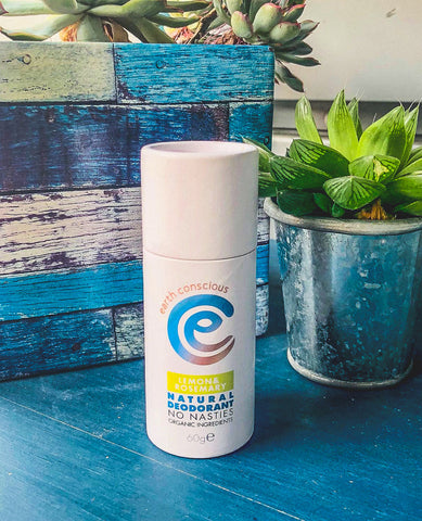 Earth Conscious Natural Deodorant Lemon & Rosemary