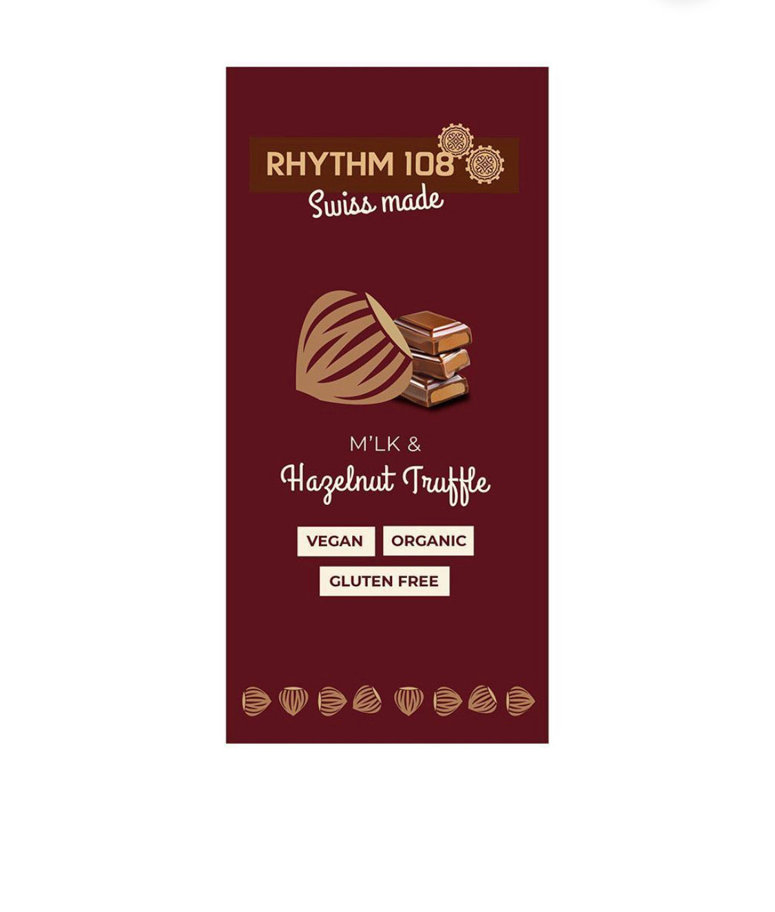 Rhythm 108 Hazelnut Truffle Bar