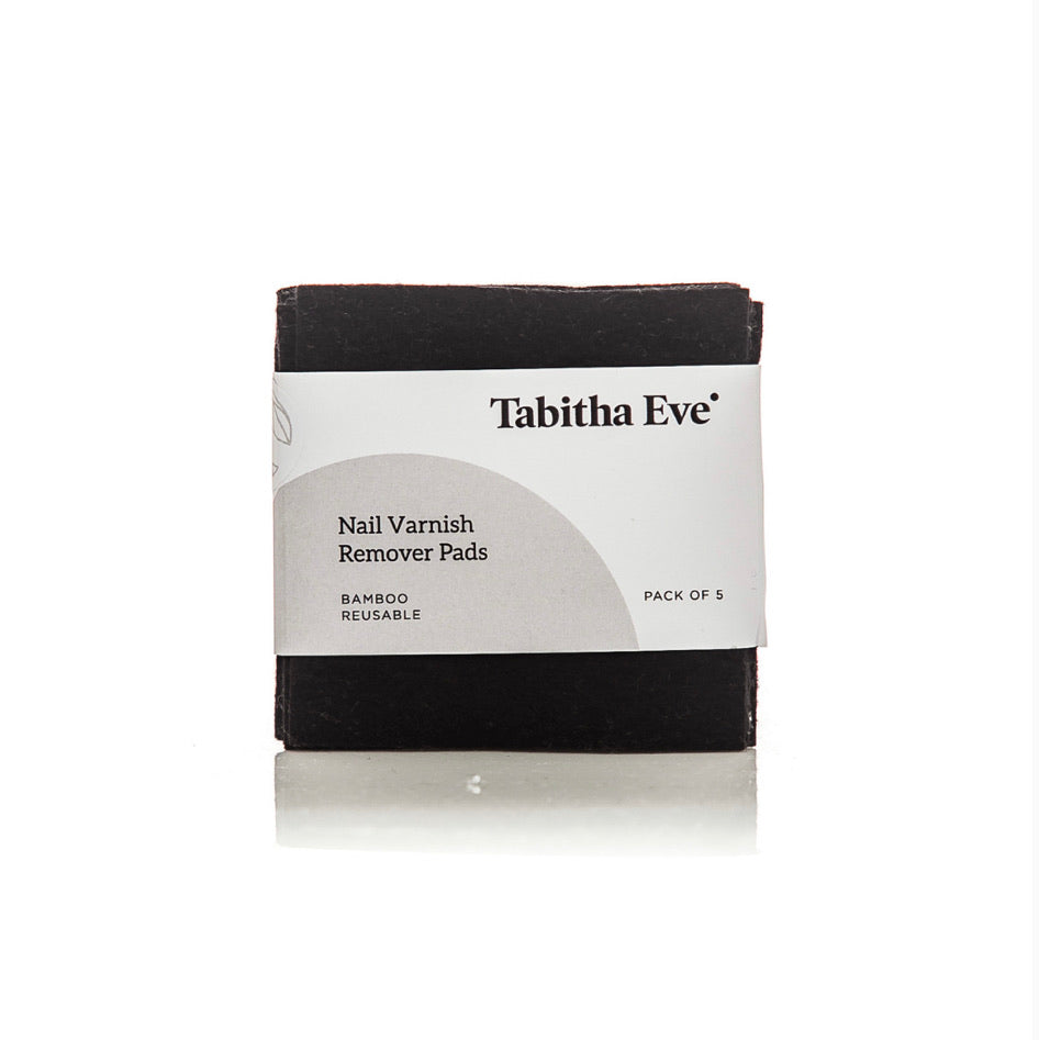 Tabitha Eve Reusable Nail Varnish Remover Pads - Bamboo Felt