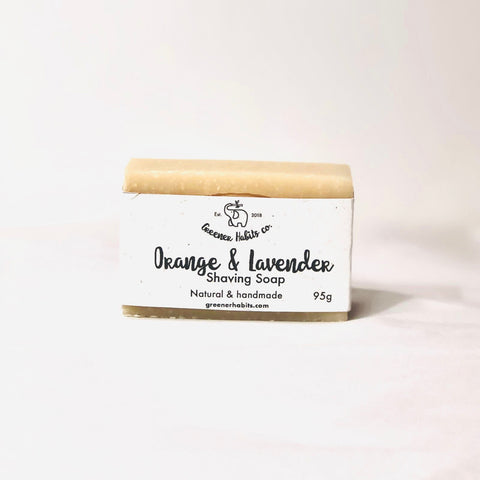 Orange & Lavender Shaving Soap