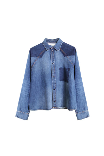 COWBOY DENIM SHIRT