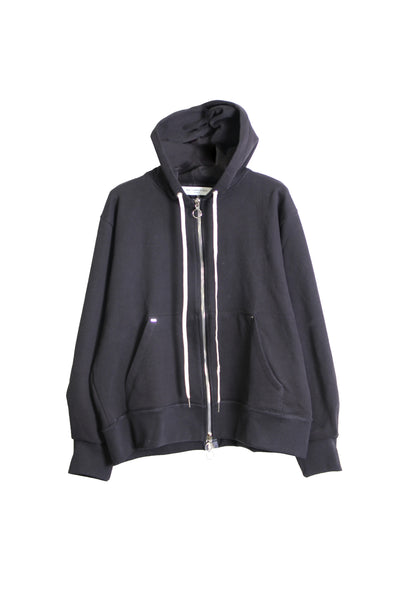 FRONT BACK ZIP UP HOODIE