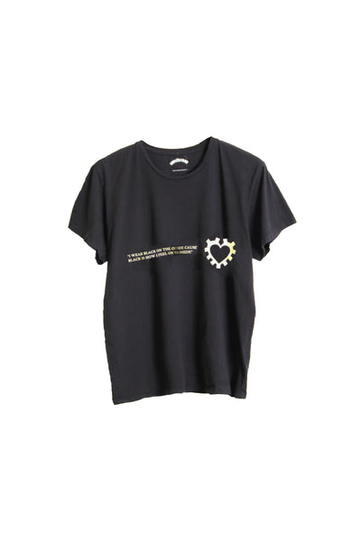 "FASHION SHORT SLEEVE T SHIRT ""UNLOVABLE"""