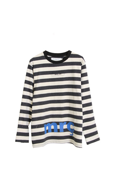 "LONG SLEEVE SHIRT STRIPED ""MRC LOGO"""