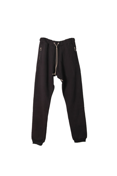 Ring Zipper Sweatpant