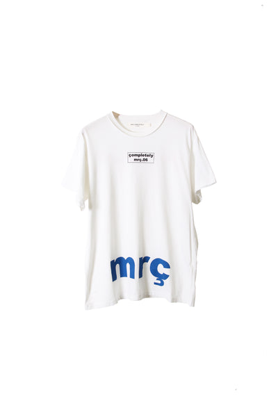 "SHORT SLEEVE T SHIRT "" BOX LOGO / MRC """