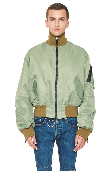 TRACK BOMBER - ARMY GREEN