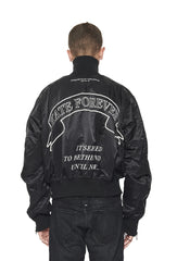 KATE FOREVER BOMBER - BLACK