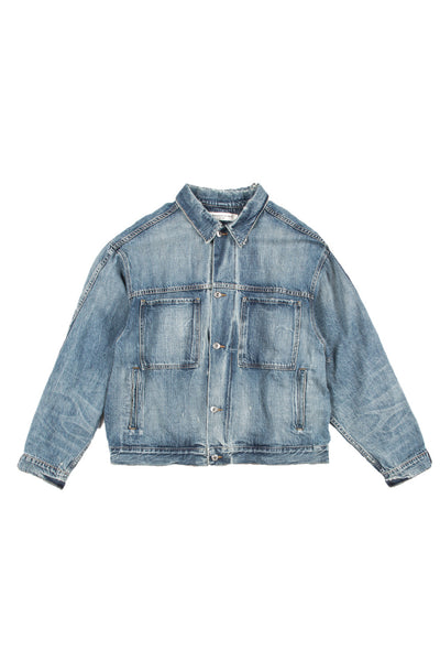 OVERSIZED JEAN JACKET 10-YR SELVEDGE