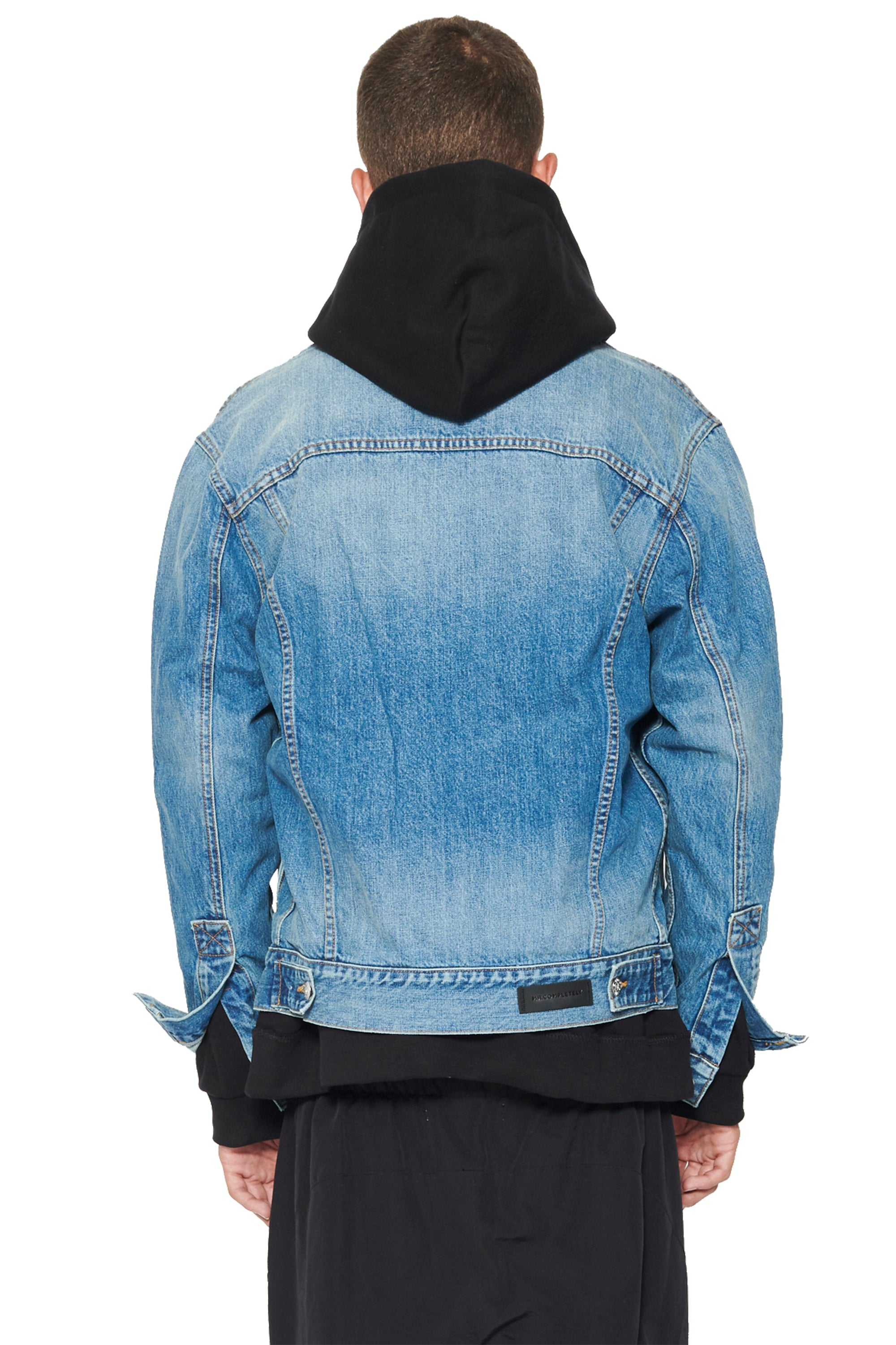 ENGINEERED FRONT DENIM JACKET - INDIGO