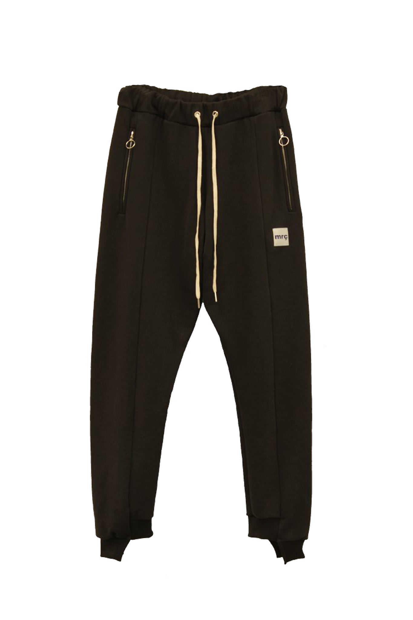 Split sweatpants - BLACK