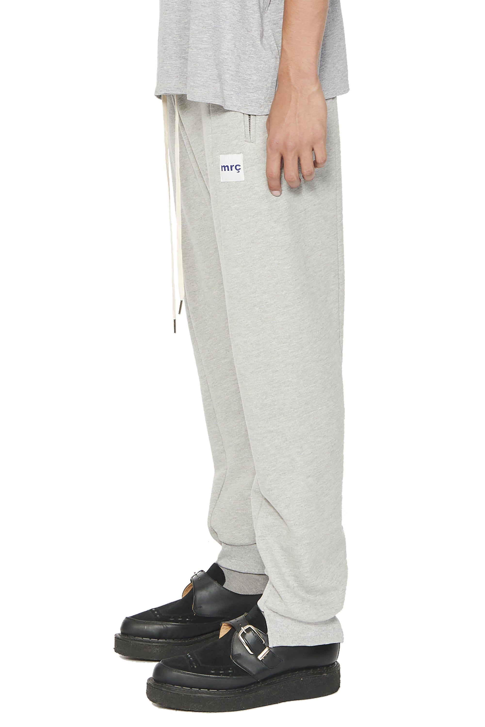 SPLIT SWEATPANTS - GREY