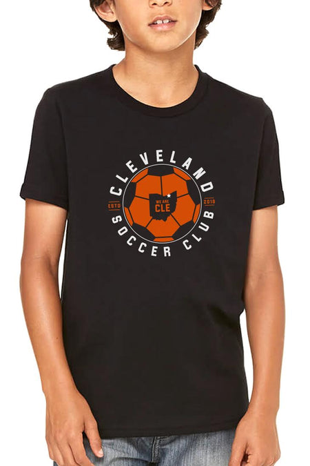 Cleveland Soccer Club Logo - Grey - Womens