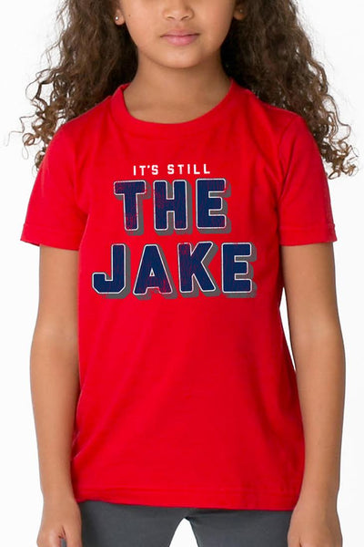 It's Still The Jake - Kids Crew - Navy/Red