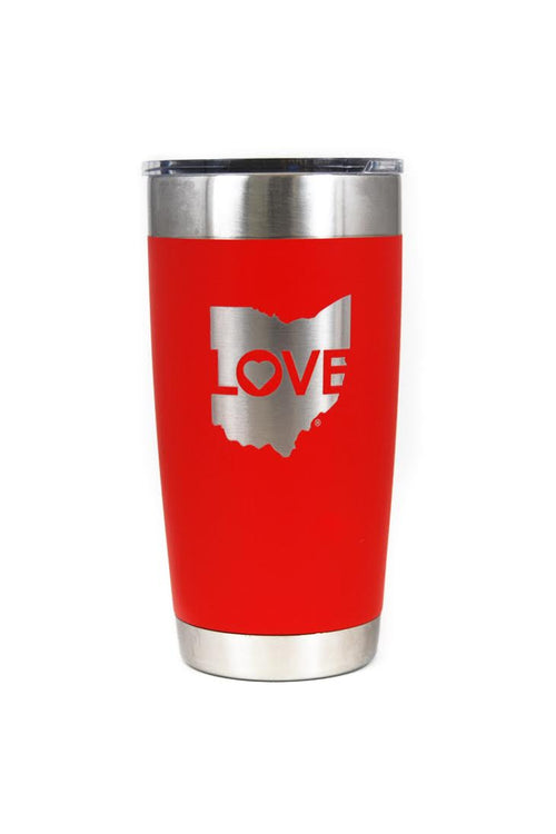 Ohio Love Logo - Travel Mug 20oz Tumbler