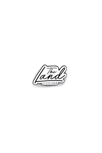 The Land Script - Enamel Pin