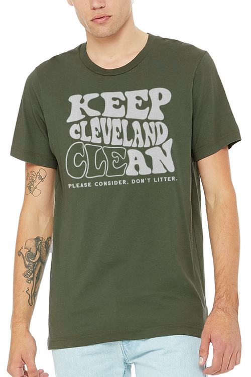 Keep Cleveland Clean - Unisex Crew - CLE Clothing Co.