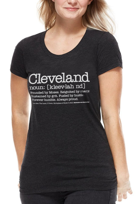 Cleveland Lipstick - Womens Relaxed Fit Crew