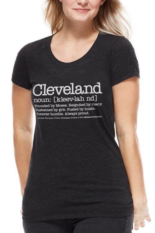 Cleveland Defined - Womens Crew - CLE Clothing Co.