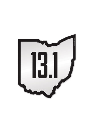 Run Ohio 13.1 - Sticker