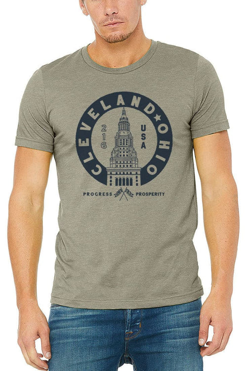 Terminal Tower Seal - Unisex Crew - Heather Stone