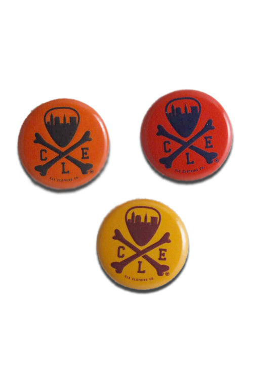 CLE Logo Button Set