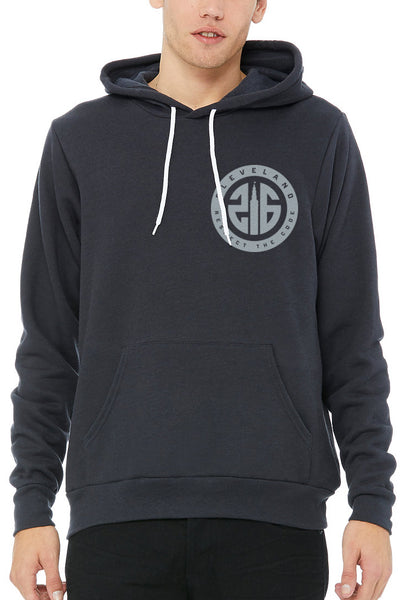 216 Respect The Code Seal - Unisex Pullover Hoodie - CLE Clothing Co.