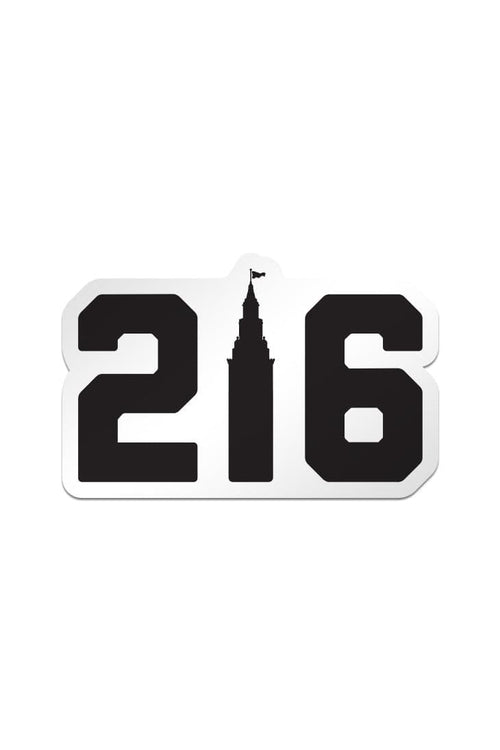 216 Terminal Tower Sticker
