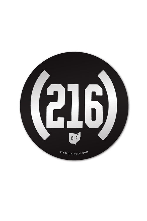 Vintage (216) - Sticker - CLE Clothing Co.