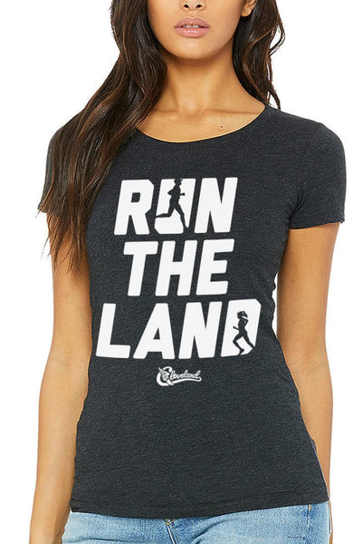 Run The Land - Women's Crew - CLE Clothing Co.