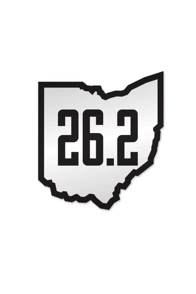 Run ohio 26 2 sticker